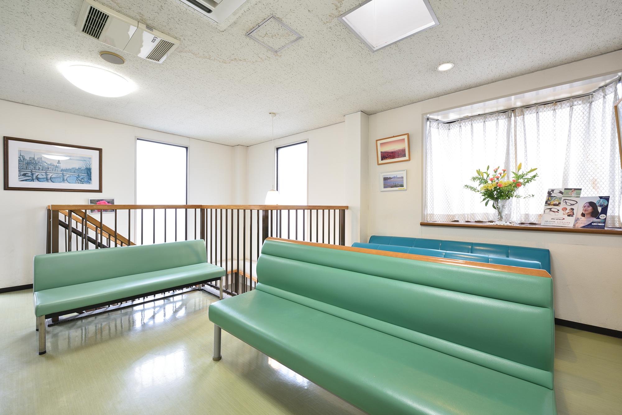 松生眼科医院 検査スペース